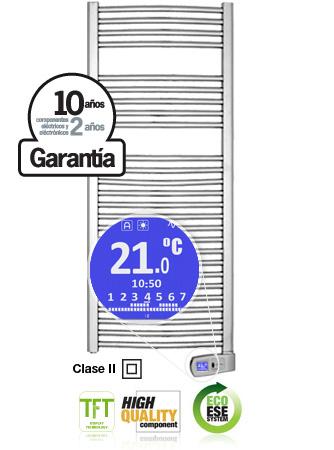 Toallero Rointe Serie T 300W Cromado